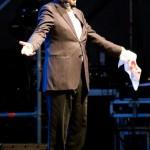 Franco Battiato al concerto di Torino