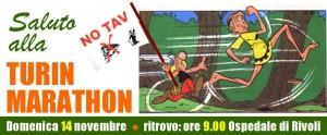 No tav Turin Marathon