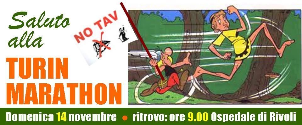 NOTAV e la Turin Marathon