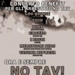 10/3 Csa Murazzi Torino concerto benefit arrestati notav