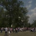 I funerali di Luca Moletto in ValSusa VIDEO