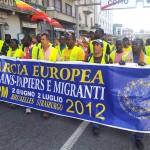 ARRIVA IN VAL SUSA LA MARCIA EUROPEA DEI SANS PAPIER