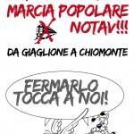 SB.28 LUGLIO MARCIA POPOLARE DA GIAGLIONE A CHIOMONTE