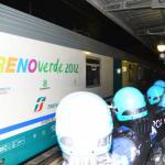 Per il treno con le scorie nucleari utilizzato il treno Verde di Legambiente