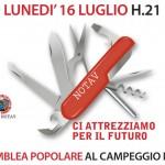 LUN.16 H21 ASSEMBLEA POPOLARE AL CAMPEGGIO NOTAV