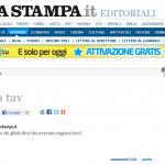 Jena su La Stampa: No tav E adesso chi glielo dice che avevano ragione loro?