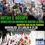 25/7 DIBATTITO Notav e Occupy: spunti per un movimento contro la crisi