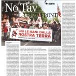 NO TAV IL TERZO FRONTE di Mauro Ravarino per Il Manifesto