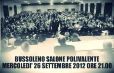 26/9 Bussoleno: Assemblea popolare del Movimento Notav