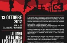 13 ottobre manifestazione a Ravenna CMC – DEVASTATORI DELLA TERRA