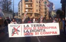 1.500 No Tav – Terzo Valico manifestano in Valpolcevera.