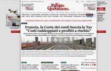 """Tav, in Francia la Corte dei conti boccia il progetto: """"Costi alti e ricavi a rischio"""""""