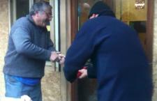 INAUGURAZIONE NUOVO PRESIDIO DI CHIOMONTE E LA RETE VIENE GIU'