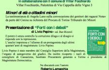 28/11 Villar Focchiardo: UN BUCO CON LA MAFIA INTORNO
