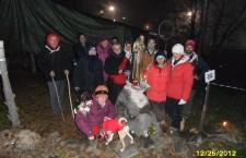 PREGHIERA DI NATALE NO TAV IN CLAREA 25-12-2012 [guarda immagini]