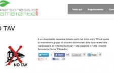 Il Movimento NOTAV personaggio Ambiente 2012? Votiamolo!