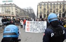 Arresto post manifestazione no Monti di Torino