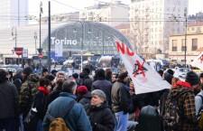 Contestato Monti a Torino. Cariche e feriti