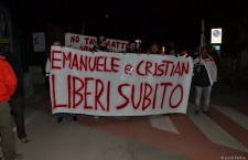 Mattie: fiaccolata per Emanuele e Cristian (video)