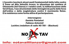 9 FEB ASSEMBLEA NO TAV VALLI DI LANZO