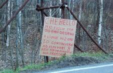 cartello risalente al 2005 a Venaus