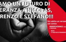 DIAMO UN FUTURO DI SPERANZA A NICOLAS, LORENZO E STEFANO!!!