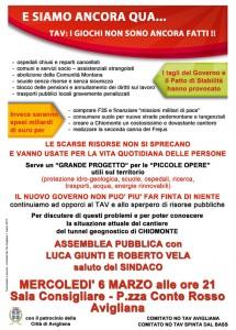 Volantino-Avigliana