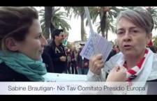 FSM 26 – Tunisi 2013 – VideoIntervista a Sabine Brautigan – No Tav Comitato Presidio Europa