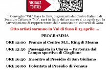 13/4 Vik Gaza To Italy a Meana