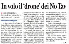 Terzovalico: il drone è notav