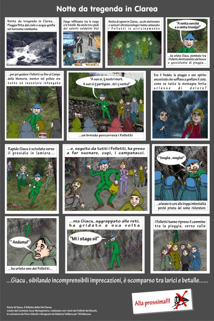Giacu a fumetti: Notte da tregenda in Clarea