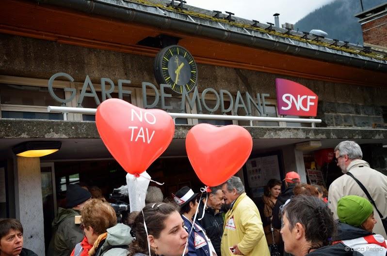 Report della Manifestazione a Modane: les Vallées qui résistent!