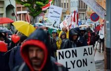 Manifestazione Notav a Modane le foto