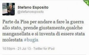 La vergogna di Esposito!