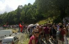 Durbiano e Perino, interventi alla partenza della marcia (VIDEO)