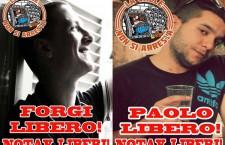 Paolo e Forgi dal carcere: anche attraverso le sbarre soffia il vento!