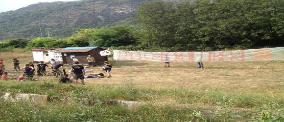 Secondo giorno al II campeggio studentesco No Tav