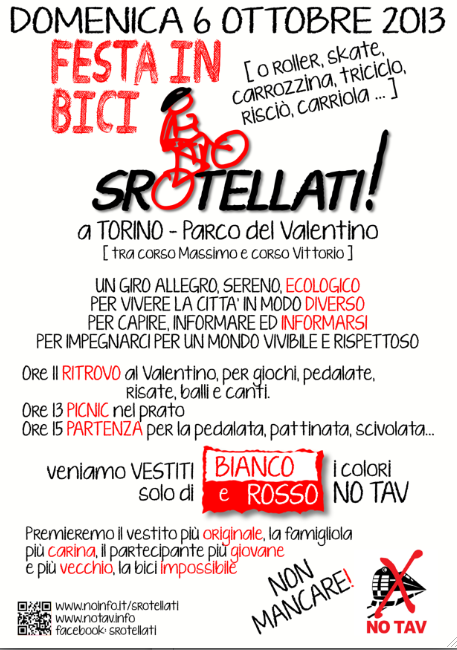 Torino 6 ottobre: SROTELLATI!