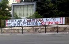 Il sindaco dell'Aquila: incontreremo gli amministratori valsusini, i soldi del Tav per la ricostruzione