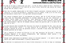 BARCELLONA NO TAV MARTEDI' 15 OTTOBRE ORE 13.00 CONSOLATO ITALIANO