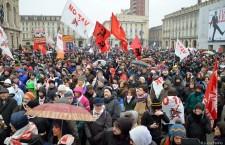A Torino, sotto la pioggia, è un successo la manifestazione notav!