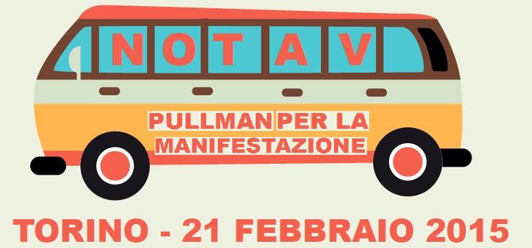 Bus per la manifestazione NoTav del 21/2 a Torino