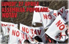 Lun.27 aprile Assemblea Popolare No Tav