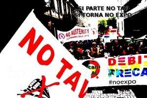 Appello per la partecipazione alla manifestazione NoExpo