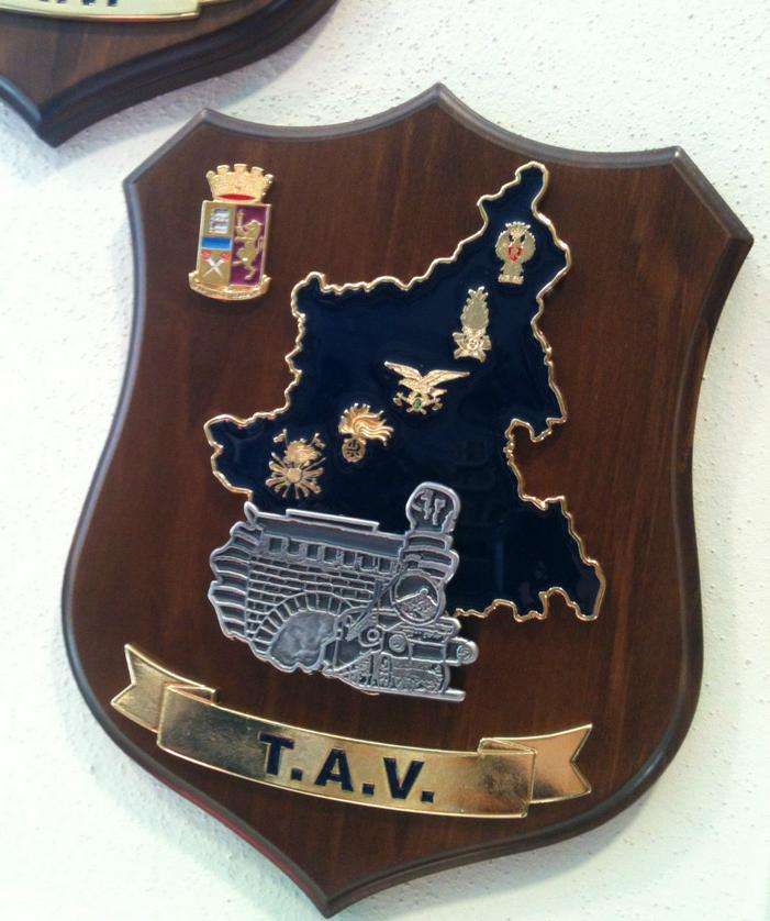 Crest polizia TAV