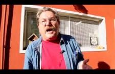 Paco Ignacio Taibo II con il movimento No Tav