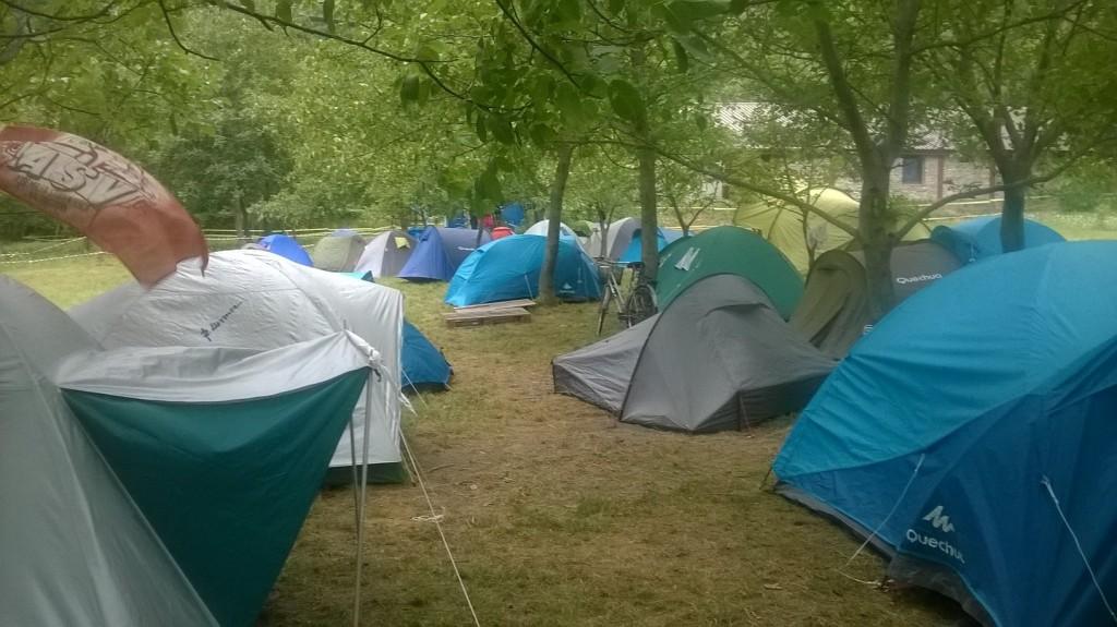 Report 1° giorno campeggio (FOTO)