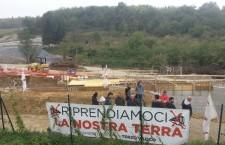 Occupato per una giornata il cantiere del Terzo Valico di Radimero