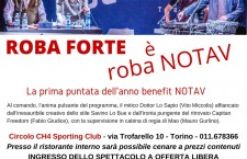 "Venerdì 18 settembre: ""Roba Forte for NO TAV"" al CH4 Sporting Club (To)"