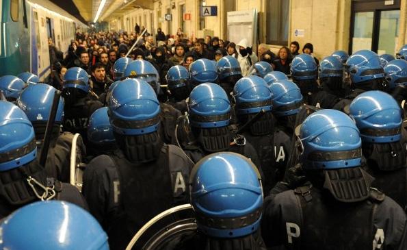 Denunce a Milano contro il movimento NoTav